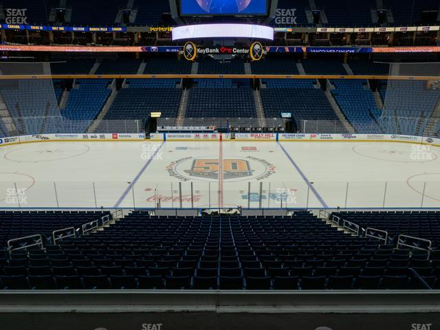 KeyBank Center Section 218 view