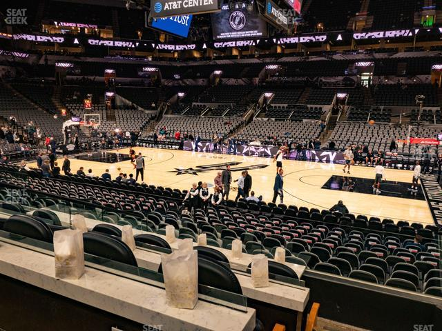 AT&T Center Super Box 2 B view