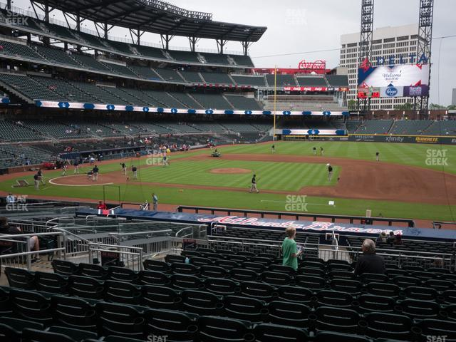 SunTrust Park Section 118 view