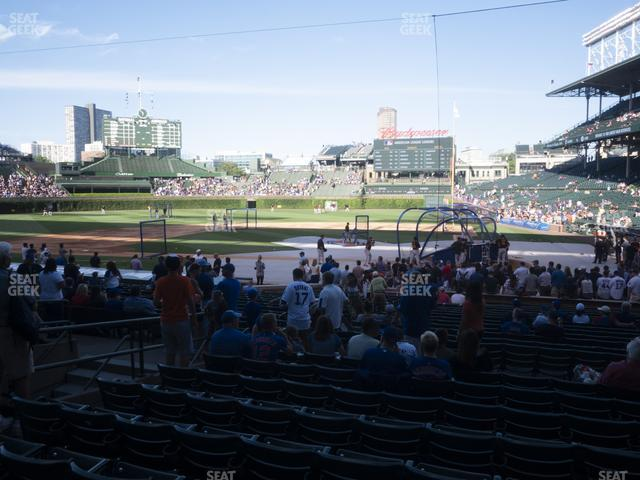 Wrigley Field Section 115 view