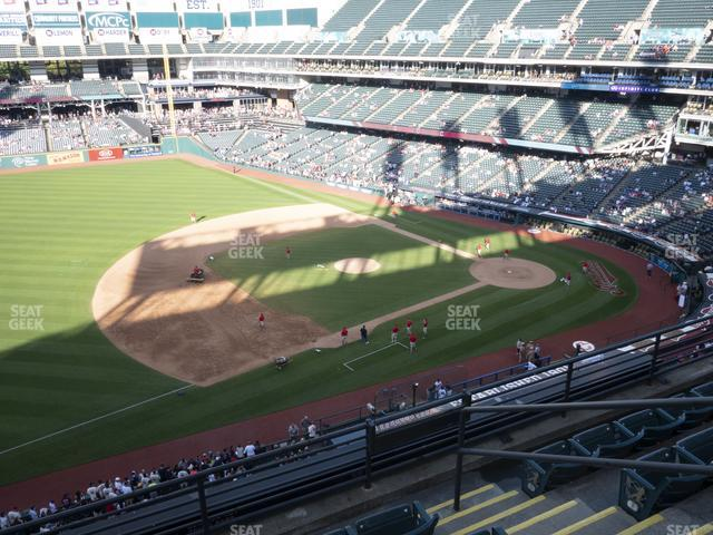Progressive Field Section 468 view