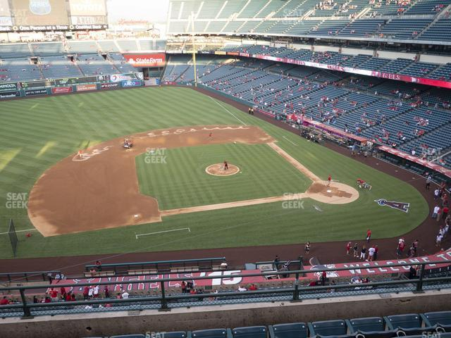 Angel Stadium of Anaheim Section 412 view