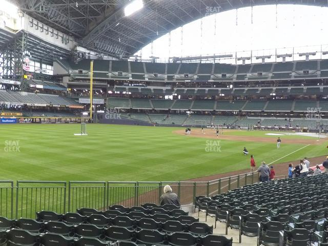 Miller Park Section 130 view