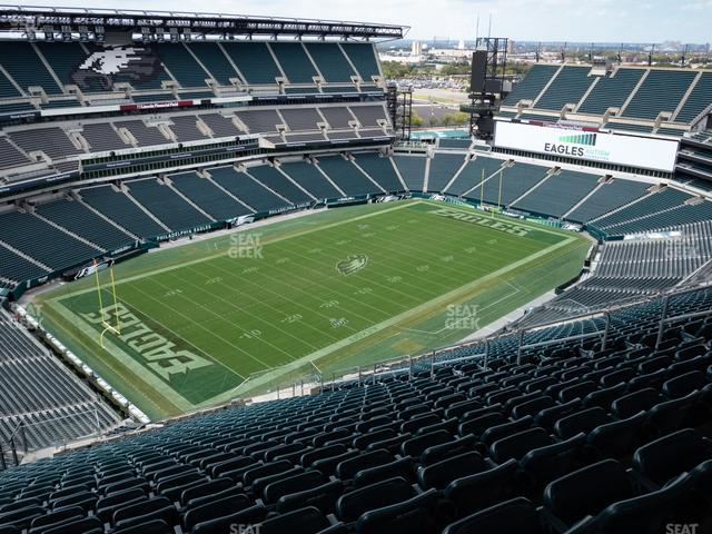 Lincoln Financial Field Section 219 view