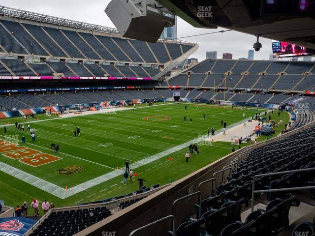 Soldier Field Section 216 view