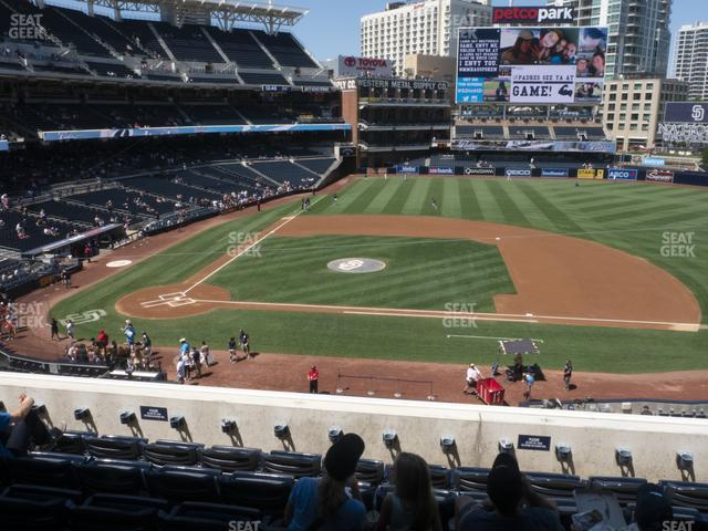 Petco Park Section 207 view
