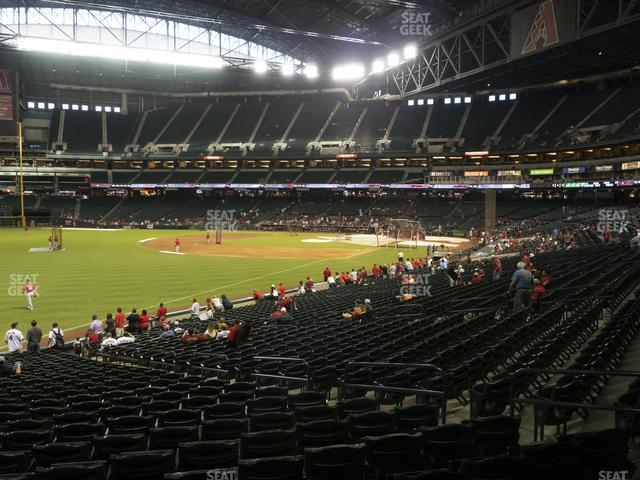 Chase Field Section 135 view