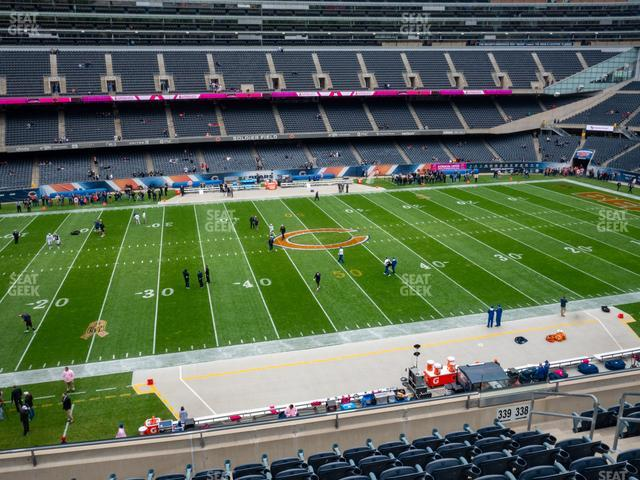 Soldier Field Section 339 view