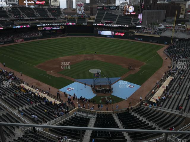Target Field Section 216 view