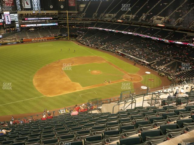 Chase Field Section 324 view