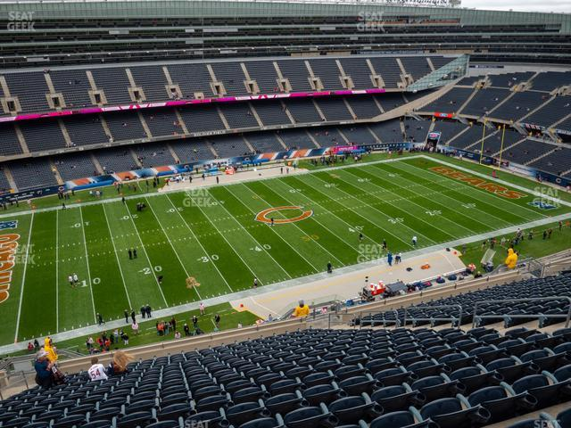 Soldier Field Section 440 view