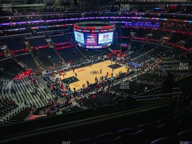Staples Center Section 304 view
