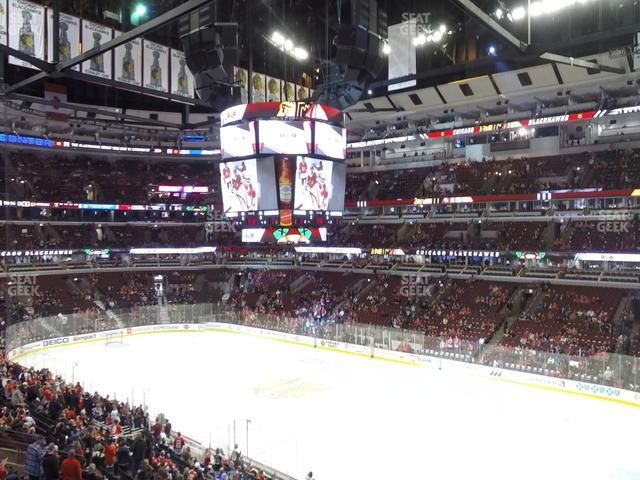 United Center Section 231 view