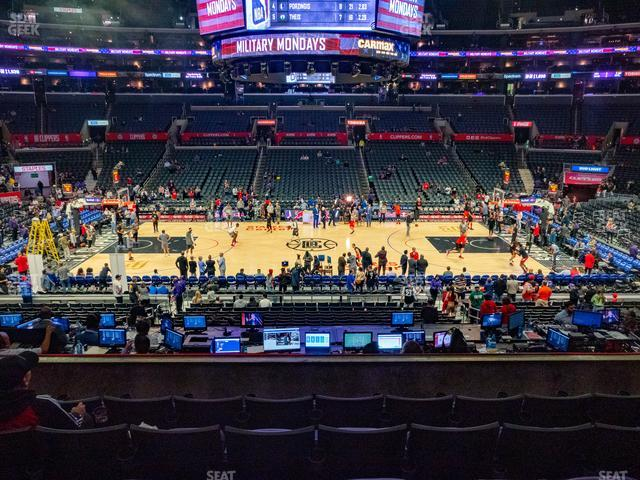 Staples Center Premier 14 view