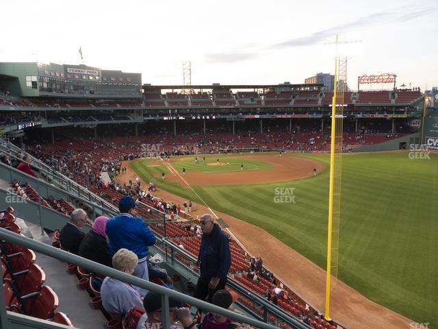 Fenway Park Right Field Roof Box 37 view