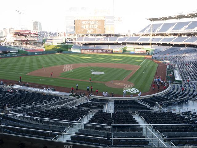 Nationals Park Section 211 view