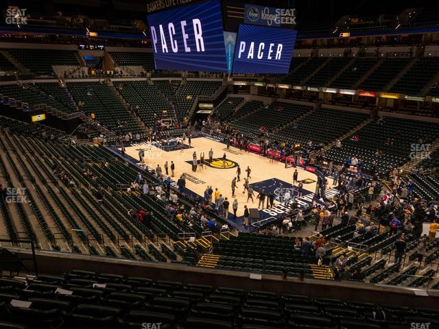 Bankers Life Fieldhouse Section 113 view