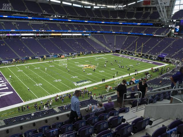 U.S. Bank Stadium Section 239 view