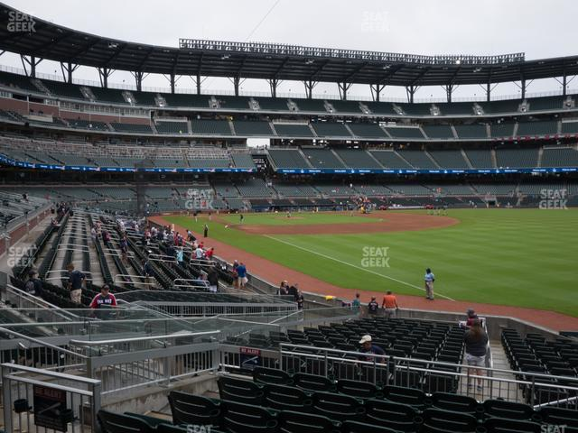 SunTrust Park Section 112 view