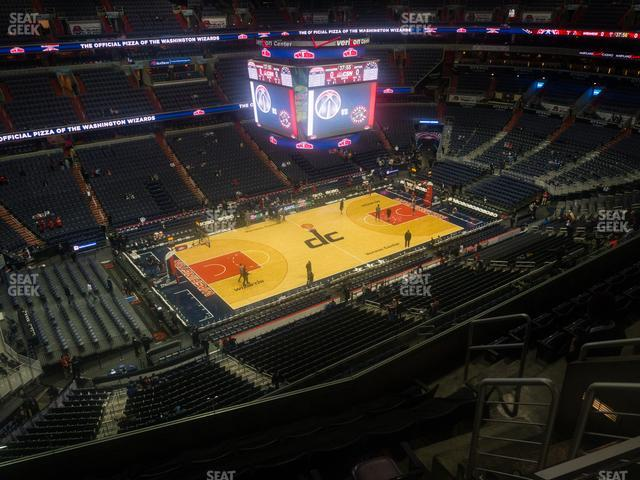 Capital One Arena Section 414 view