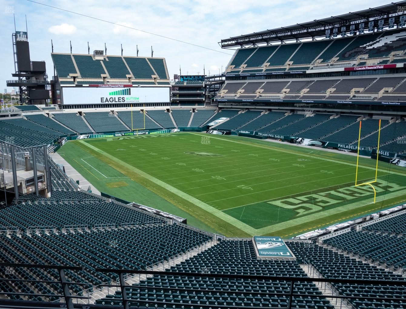 Philadelphia Eagles at Lincoln Financial Field Southwest Terrace View