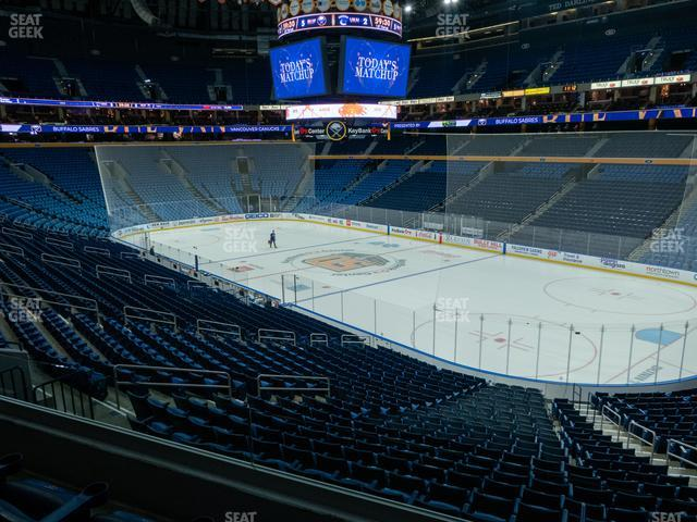 KeyBank Center Section 203 view