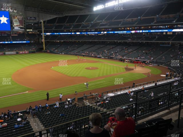 Minute Maid Park Section 210 view