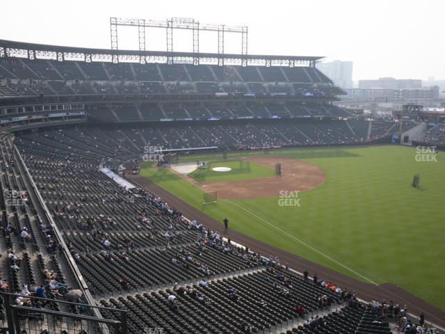 Coors Field Lower 313 view