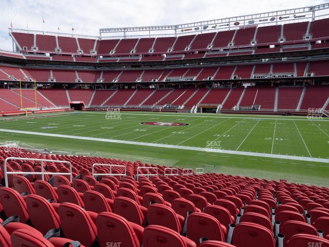 Levi's Stadium Section C 135 view