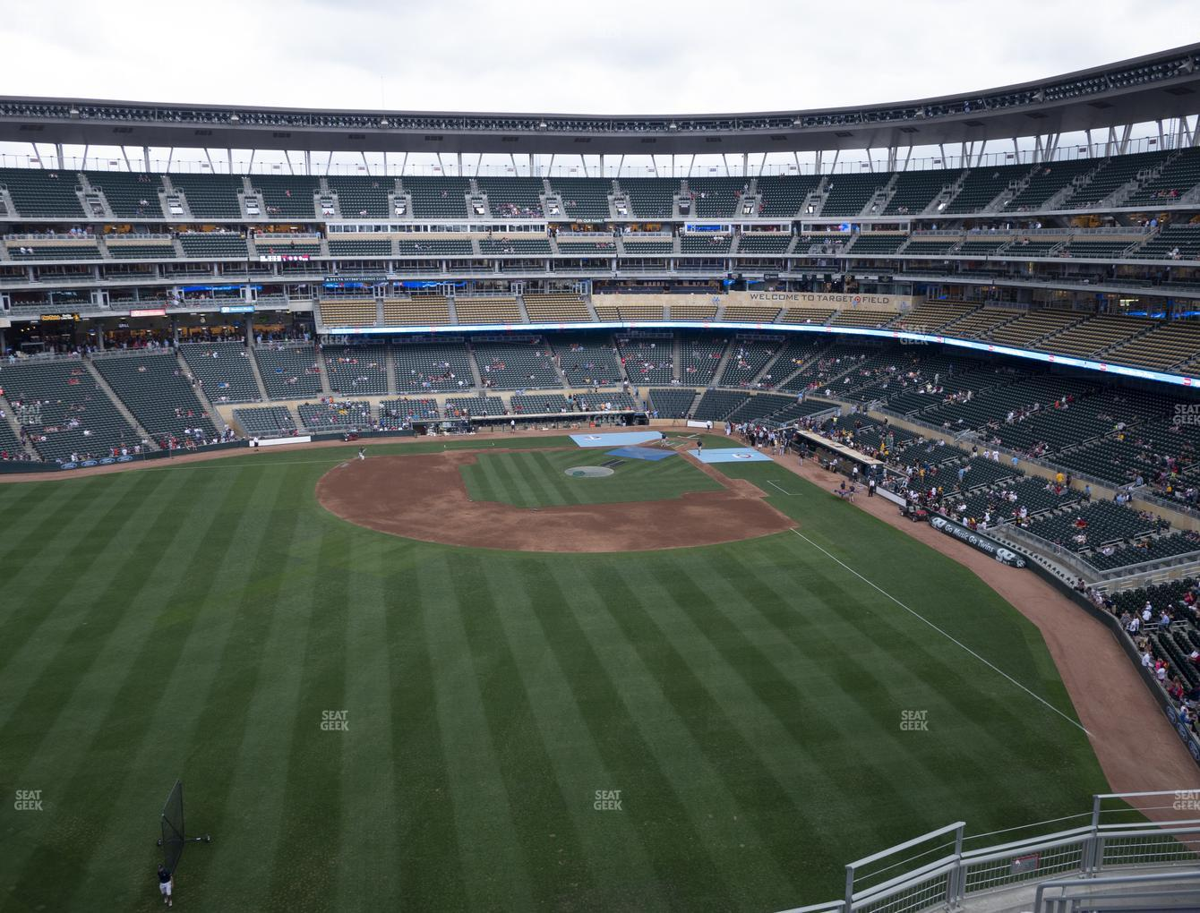 Minnesota Twins at Target Field Section 331 View
