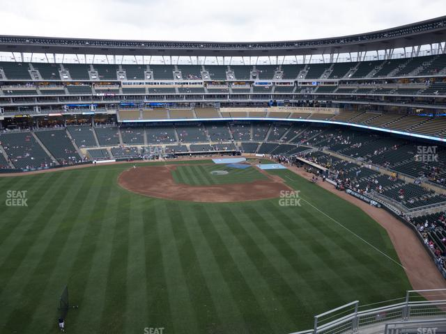 Target Field Section 331 view