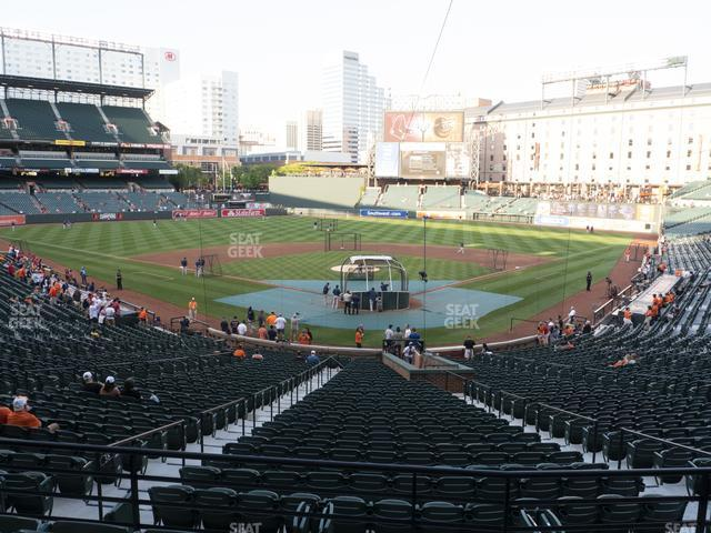 Oriole Park at Camden Yards Section 37 view