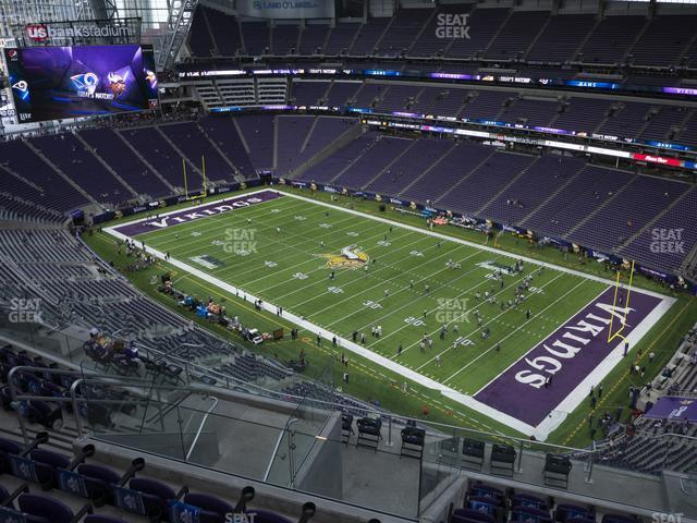 U.S. Bank Stadium Section 335 view