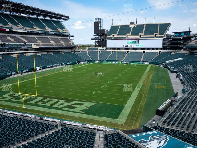 Lincoln Financial Field Section M 14 view