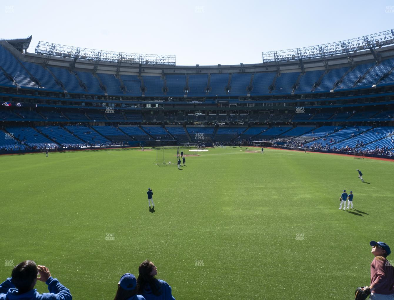 Toronto Blue Jays at Rogers Centre Section 142 R View