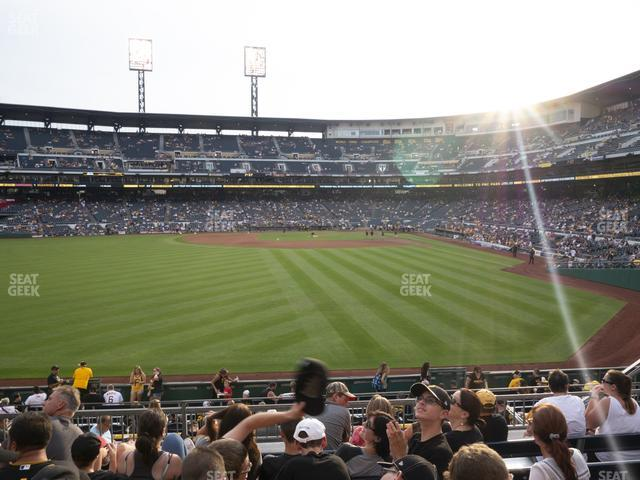 PNC Park Section 134 view