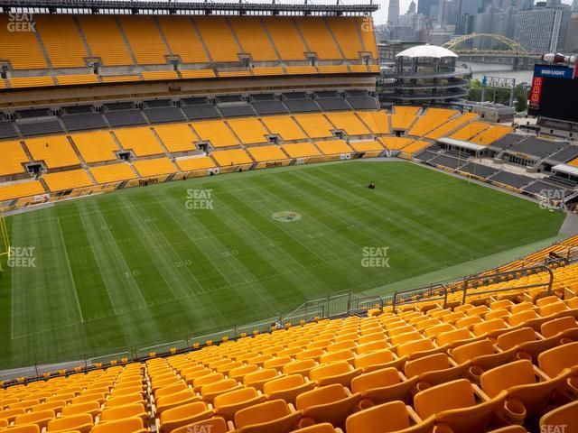 Heinz Field Section 531 view