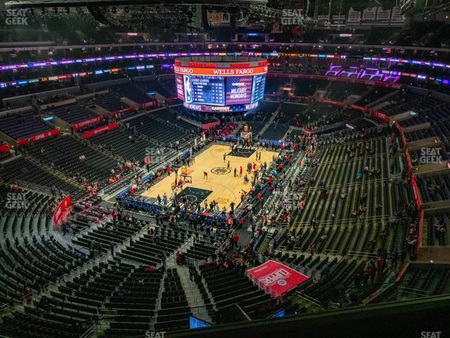 Staples Center Section 307 view