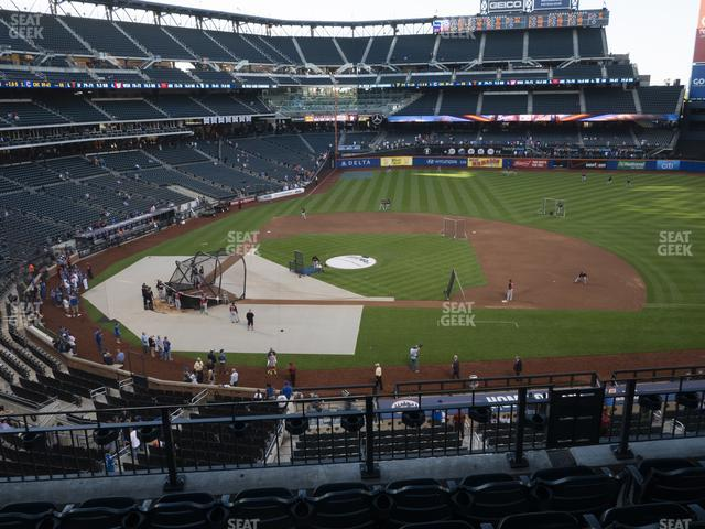 Citi Field Section 312 view