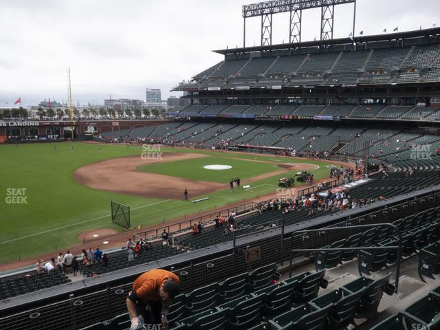 Oracle Park Section 228 view
