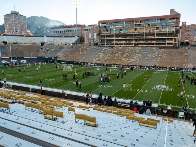 Folsom Field Section 119 view