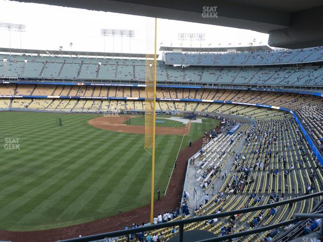 Dodger Stadium Section Club 259 view