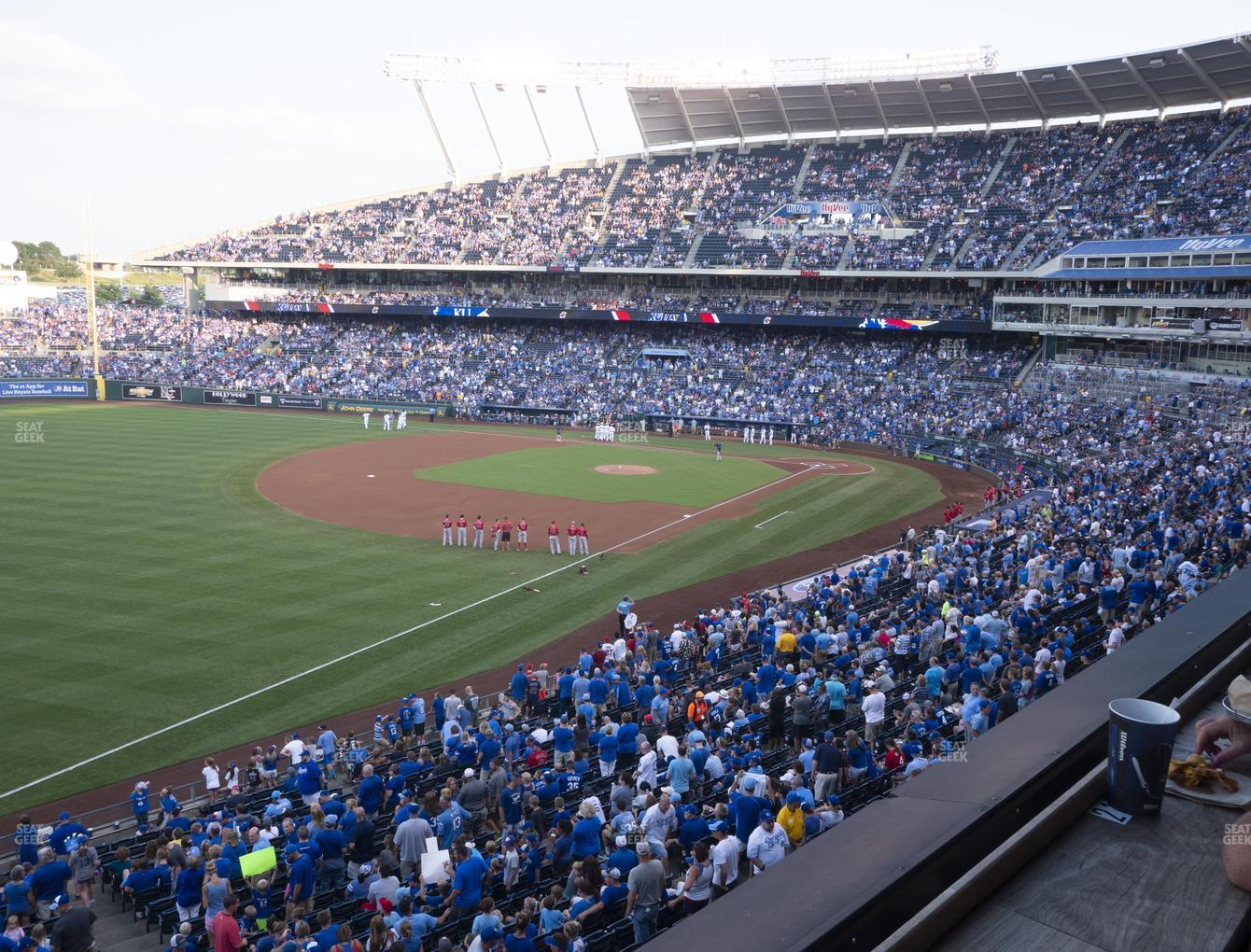 Kansas City Royals at Kauffman Stadium Craft And Draft View