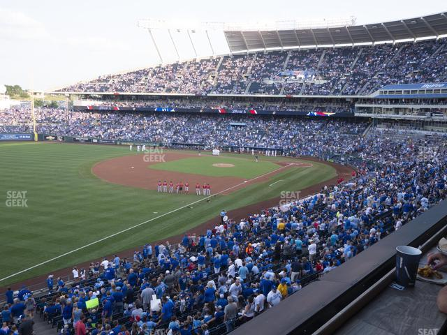 Kauffman Stadium Craft And Draft view