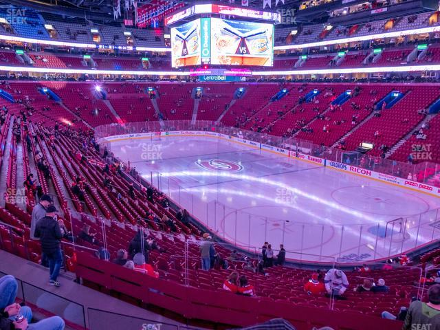 Bell Centre Section 121 view