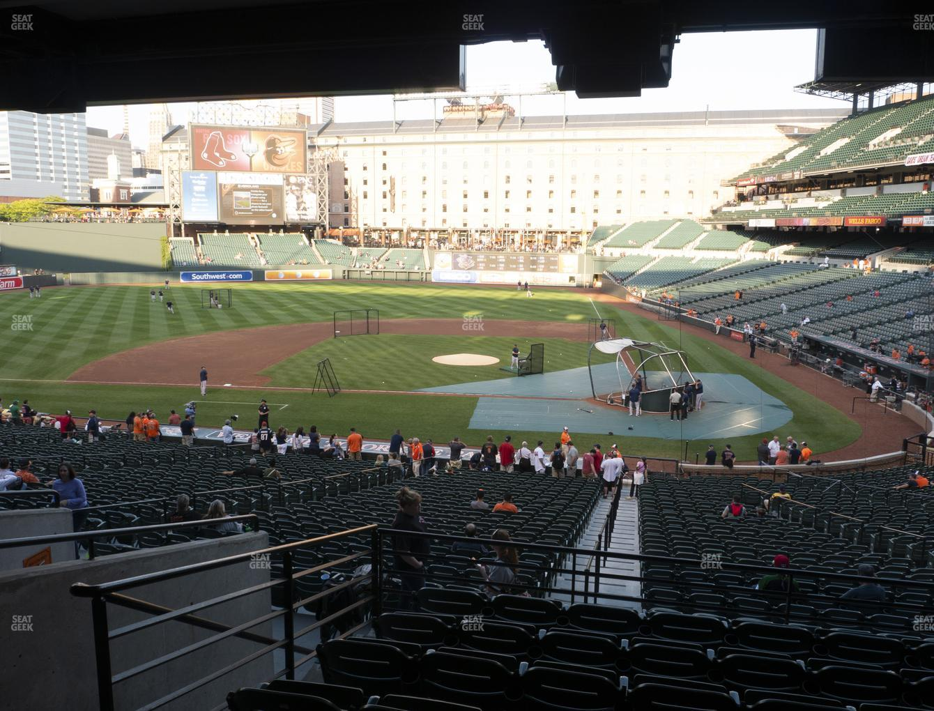 Baltimore Orioles at Oriole Park at Camden Yards Section 47 View