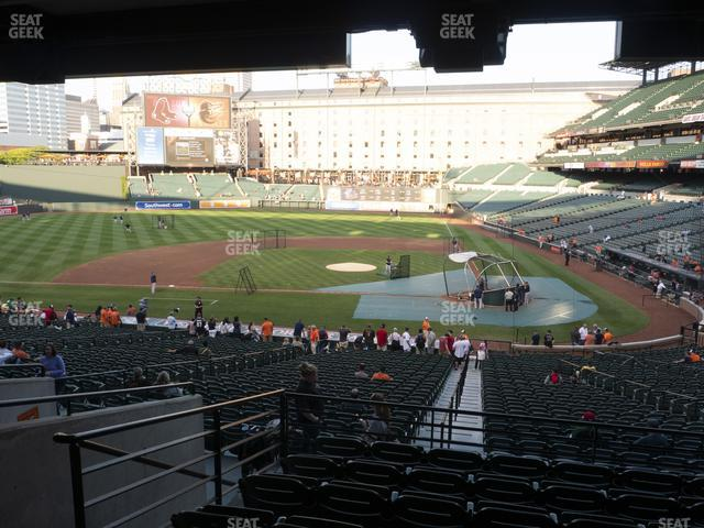 Oriole Park at Camden Yards Section 47 view