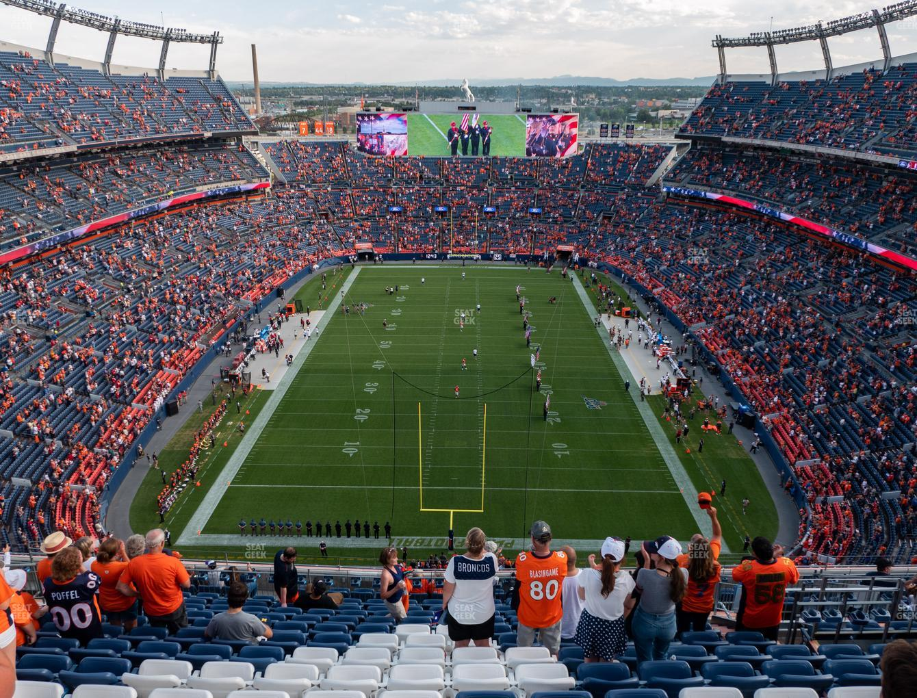 Denver Broncos at Empower Field at Mile High Section 521 View