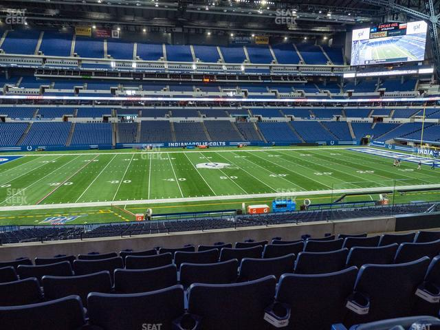 Lucas Oil Stadium Section 241 view