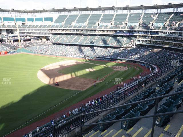 Progressive Field Section 474 view